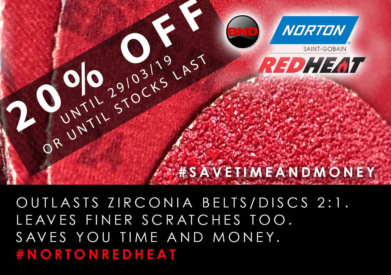 Norton Red Heat SALE
