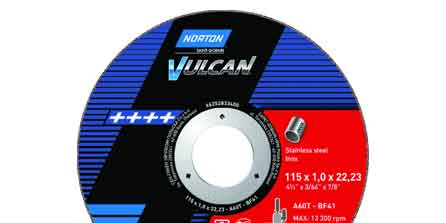 Norton Vulcan Slitting Discs