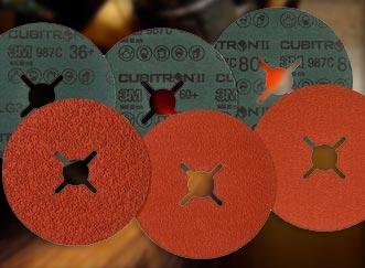 3M Cubitron II Fibre Discs