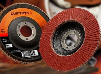 3M Cubitron II Flap Discs