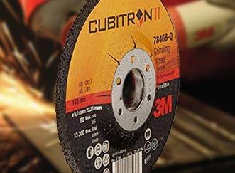 3M Cubitron II Grinding Discs