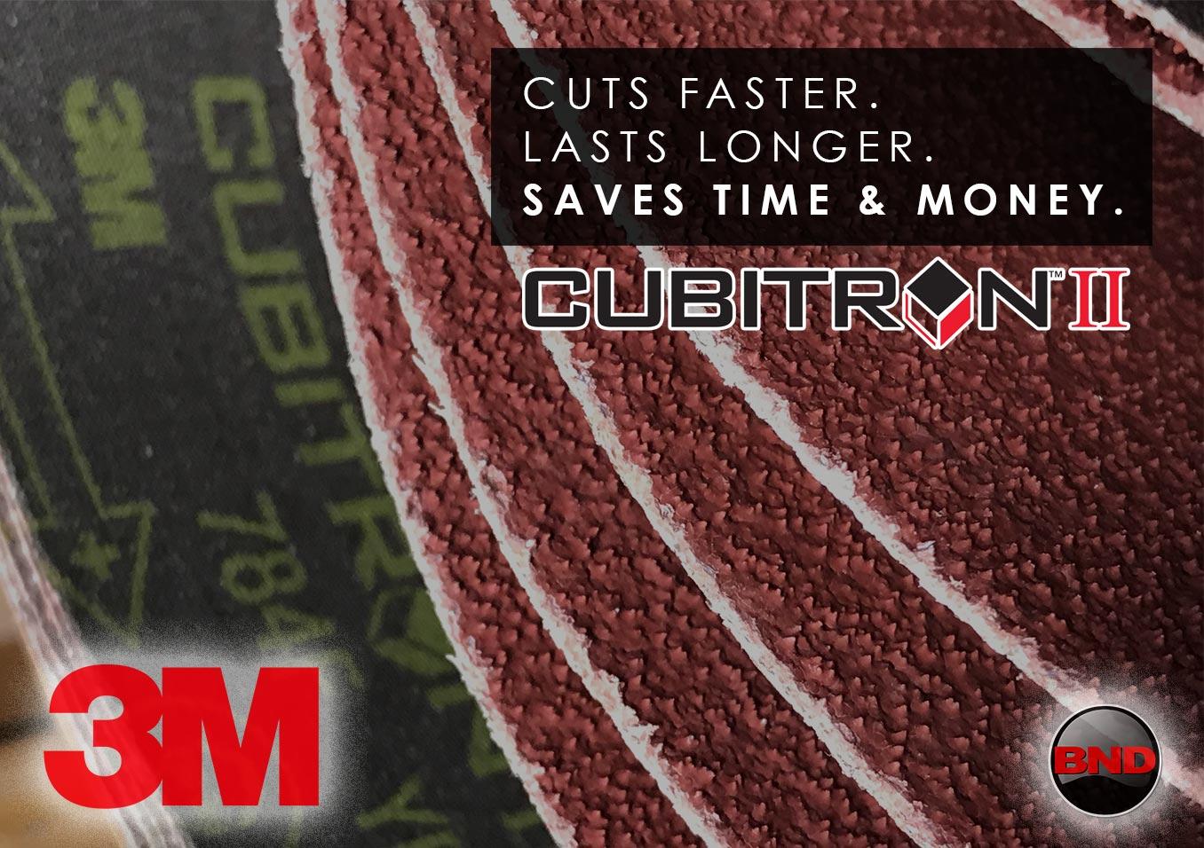 3M Cubitron II Belts and Discs