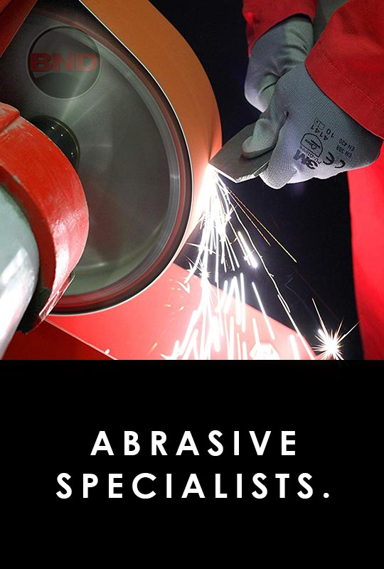 Why buy from BND Abrasives - Abrasive Specialist