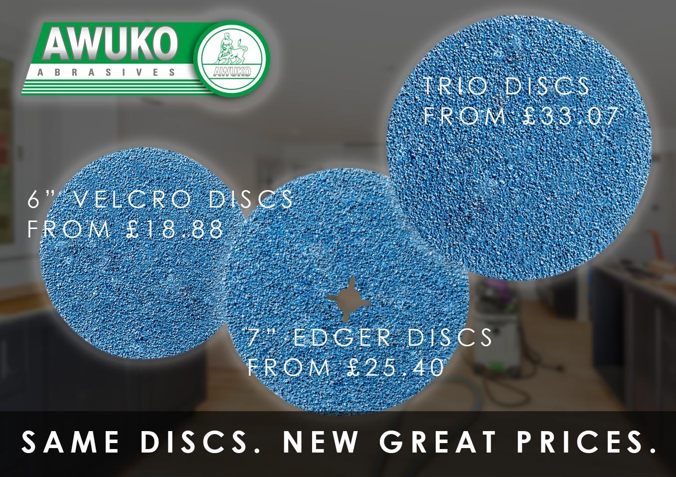 Awuko Discs New Prices