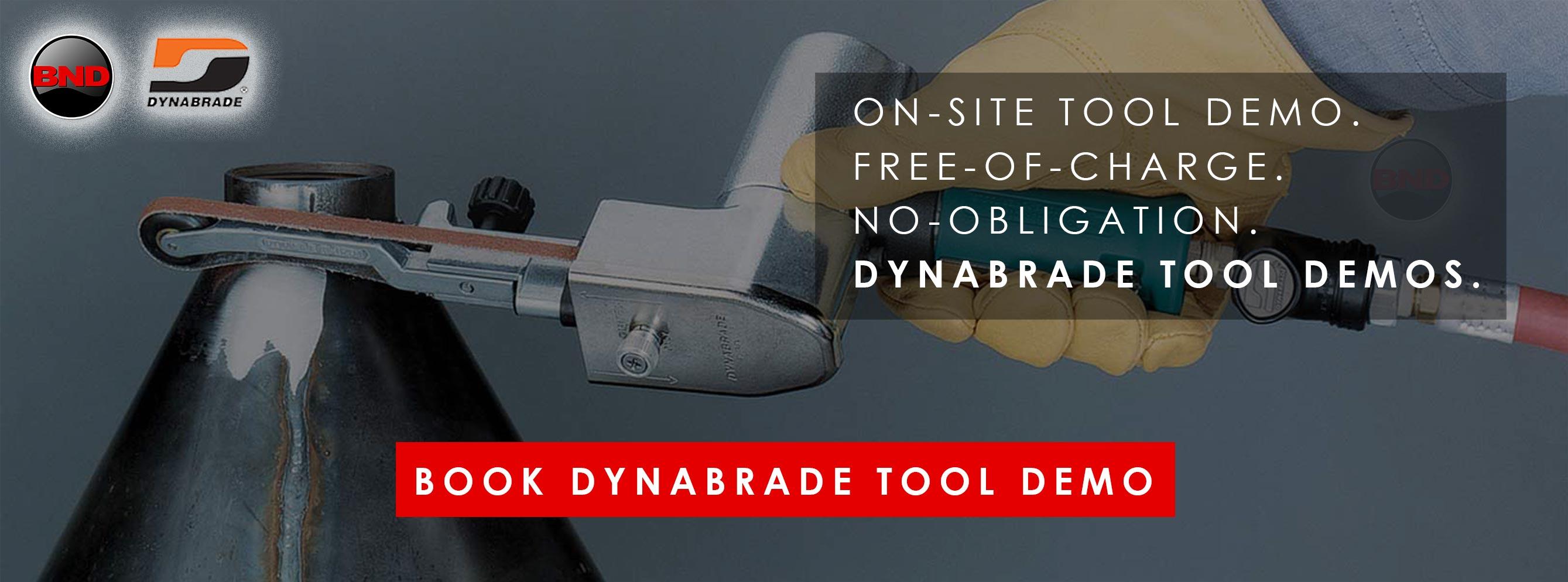 Book Dynabrade Tool Demo