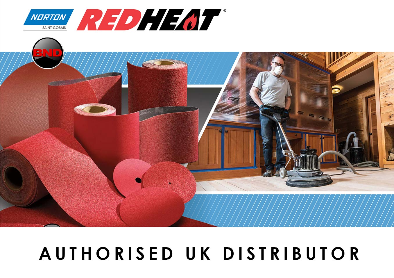 Norton Red Heat Belts and Norton Red Heat Discs