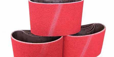 Buy Norton Red Heat Belts Red-X Ceramic