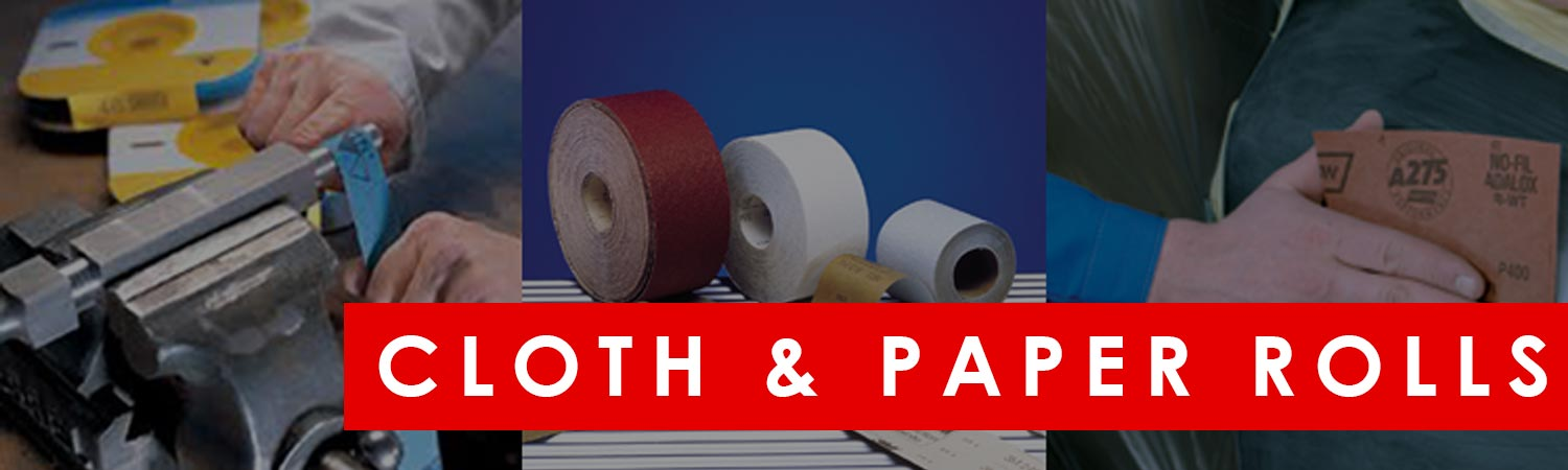 Abrasive Cloth & Paper Rolls