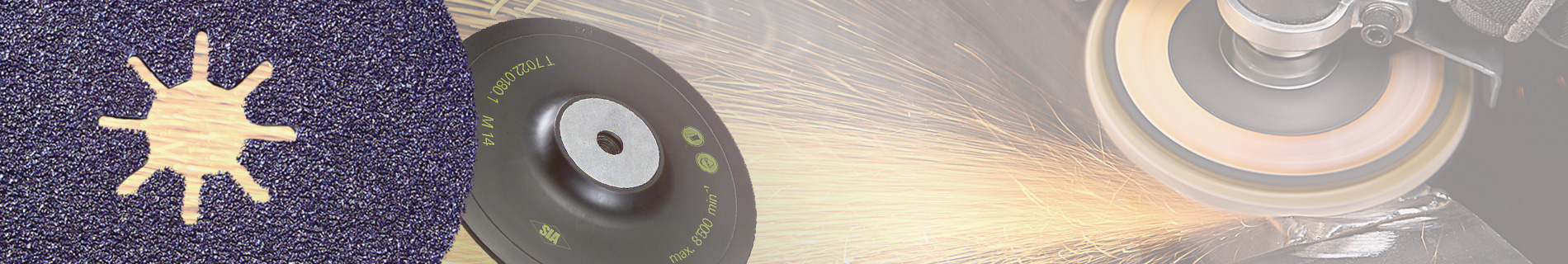 Fibre-backed Sanding Discs