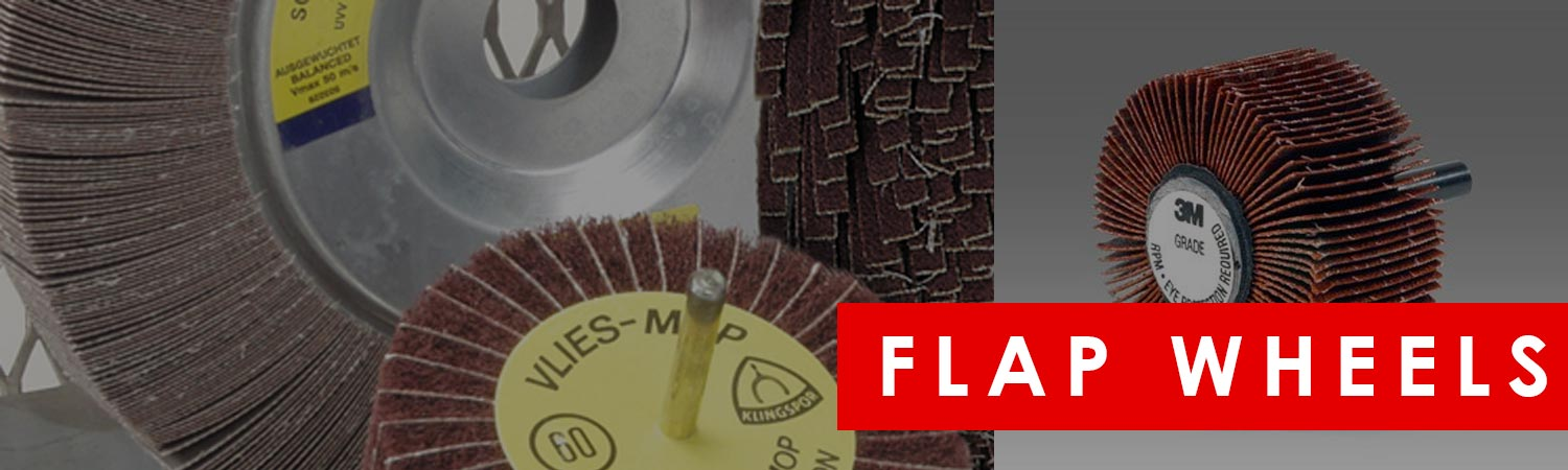Flap Wheels & Abrasive Mops