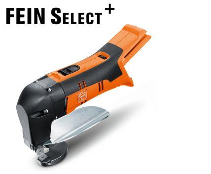 FEIN ABLS 18 1 6 E Electric Cordless Sheet Metal Shears - BODY ONLY  (Cordless sheet metal shears up to 1 6 mm)