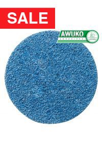 Awuko ZT62X Zirconia Cloth Floor Sanding Disc 150mm - Pack of 50 (fits Lagler FLIP Edge Sander, Bona Flexisand, Clarke Hydrasand)