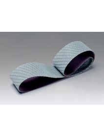 3M 337DC Trizact Gator STARTER PACK Cloth Belts 50mm x 2000mm for Knife Polishing - Pack of 3