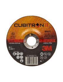 3M Cubitron II Cut-Off Wheel T42 180mm x 2.5mm x 22.23mm (65479) - Pack of 25