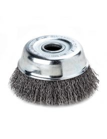 Lessmann Steel Crimped Cup Brush 75mm x M14 STA0.35mm 423.167