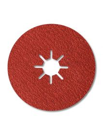 SIA 4570 X Ceramic Fibre Backed Disc 125mm x 22mm - Pack of 50