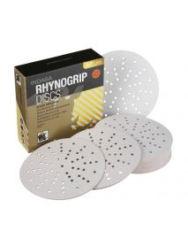 Indasa Rhynogrip HT Line Aluminium Oxide Self-Grip Discs 150mm Ultravent  - Pack of 50