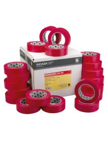 Indasa MTE-RED High Temperatire Performance Masking Tape 48mm x 50M (580394) - Box of 20