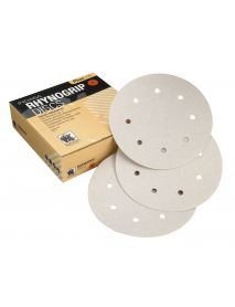 Indasa Rhynogrip Plusline Aluminium Oxide Self-Grip Discs 125mm 8 Hole  - Pack of 50