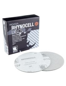Indasa Rhynocell MF3000 Abrasive Mineral Self-Grip Microcell Foam Discs 150mm  MF3000 - Pack of 10 (C55212)