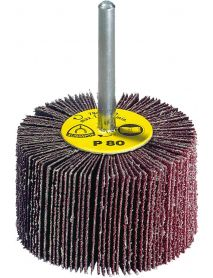Klingspor KM613 Abrasive Flap Wheels 80mm x 30mm x 6mm - Pack of 10-P80