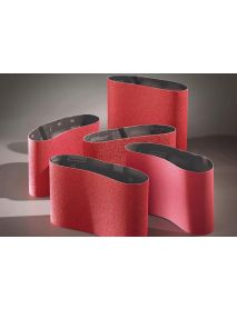 Norton R976 Red-X Ceramic Cloth Floor Sanding Belts 200mm x 750mm  (Pack of 10)