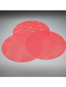 Norton Q955 Red Heat Net  Abrasive Mesh Screen Disc 407mm - Pack of 10 - for 16 inch Floor Buffing Machines