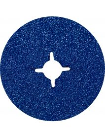 Norton F827 Zirconia Alumina (Blue) Fibre Discs 115mm x 22mm P120 - Pack of 25 (63642533055)