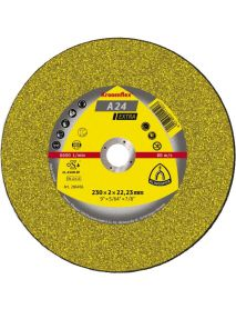 Klingspor A24 Extra Cutting-off Discs 230mm x 3mm x 22.23mm - Pack of 25