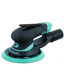 "Dynabrade X61V 6"" (152 mm) Dia. Central-Vacuum Dynorbital Extreme Random Orbital Sander 0.3 hp, 12,000 RPM, 3/16"" (5 mm) Dia. Orbit, Rear Exhaust, Hook-Face"