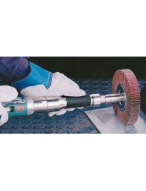 "Dynabrade 13518 Dynastraight® 6"" (152 mm) Extension Finishing Tool 1 hp, Straight-Line, 4,500 RPM, Rear Exhaust, 5/8"" (16 mm) or 1"" (25 mm) Dia. Arbor"