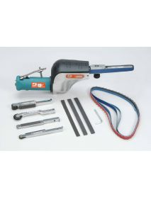 "Dynabrade 14010 Dynafile® Abrasive Belt Tool Versatility Kit .5 hp, Straight-Line, 20,000 RPM, Front Exhaust, for 1/8""-1/2"" W x 24"" L (3-13 mm x 610 mm) Belts"