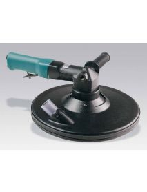 "Dynabrade 58485 11"" (279 mm) Dia. Two-Hand Dynorbital® Random Orbital Sander, Central Vacuum .7 hp, 2,500 RPM, 3/4"" (19 mm) Dia. Orbit, Rear Exhaust"