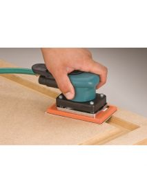 "Dynabrade 58503 3-1/4"" W x 5"" L (82 mm x 127 mm) Dynabug® II Orbital Sander, Non-Vacuum .15 hp, 10,000 RPM, 3/32"" (2.5 mm) Dia. Orbit, Rear Exhaust"