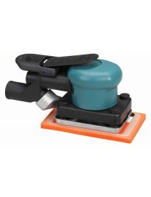 "Dynabrade 58505 3-1/4"" W x 5"" L (82 mm x 127 mm) Dynabug® II Orbital Sander, Central Vacuum .15 hp, 10,000 RPM, 3/32"" (2.5 mm) Dia. Orbit, Rear Exhaust"