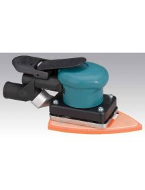"Dynabrade 58506 3-7/8"" W x 5-5/8"" L (99 mm x 143 mm) Dynabug® II Orbital Sander, Central Vacuum .15 hp, 10,000 RPM, 3/32"" (2.5 mm) Dia. Orbit, Rear Exhaust"