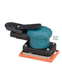 "Dynabrade 58509 3"" W x 4-1/4"" L (76 mm x 108 mm) Dynabug® II Orbital Sander, Non-Vacuum .15 hp, 10,000 RPM, 3/32"" (2.5 mm) Dia. Orbit, Rear Exhaust"