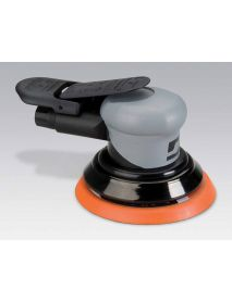 "Dynabrade 69035 5"" (127 mm) Dia. Non-Vacuum Dynorbital® Silver Supreme Random Orbital Sander .26 hp, 12,000 RPM, 3/32"" (2.4 mm) Dia. Orbit, Rear Exhaust"