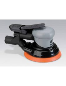 "Dynabrade 69039 5"" (127 mm) Dia. Central Vacuum Dynorbital® Silver Supreme Random Orbital Sander .26 hp, 12,000 RPM, 3/32"" (2.4 mm) Dia. Orbit, Rear Exhaust"