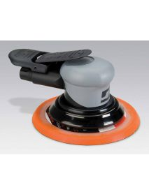 "Dynabrade 69040 6"" (152 mm) Dia. Non-Vacuum Dynorbital® Silver Supreme Random Orbital Sander .26 hp, 12,000 RPM, 3/32"" (2.4 mm) Dia. Orbit, Rear Exhaust"