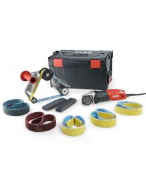 Flex 433446 BRE 14-3 125 Set 230/CEE  Electric Pipe Belt Sander