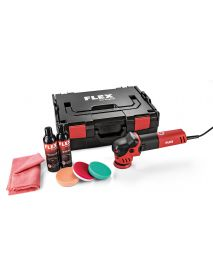 Flex 447137 XFE 7-12 80 P-Set 230/CEE  Electric Random orbital Polisher