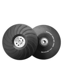 Flexipads 11732 M14 Thread 180mm Angle Grinder Backing Pads (Hard Density)