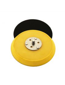 Flexipads 17070 5/16 UNF 150mm Random Orbital Sander Velcro Backing Pads (No Holes, Medium Density)