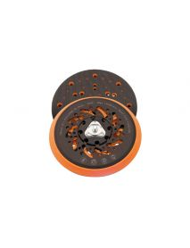 Flexipads FE653 Cyclone 5/16 UNF (+ M8 Adaptor)  150mm Random Orbital Sander Velcro Backing Pads (Multihole, Soft Density)
