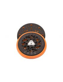 Flexipads FE654 Cyclone 5/16 UNF (+ M8 Adaptor)  150mm Random Orbital Sander Velcro Backing Pads (Multihole, Soft Density)