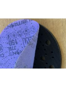 Sia Interface Pads 150mm (fits Sia FiboTec, 3M Clean-Sand, Multi-air, and any other hole pattern)