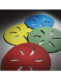 Norton Sand Dollar Surface-Prep Discs  407mm Assorted Kit - Pack of 4 KIT ASSORTED GRADES (66261194874)