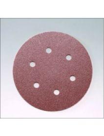 SIA 1919 siawood siafast Aluminium Oxide  Discs 150mm 6 Holes  - Pack of 100