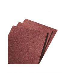 Norton R222 J-WT Aluminum Oxide Flexible Cloth Backed Sheets - 230mm x 280mm - Pack of 50